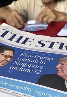 """Singapore lập """"khu vực sự kiện đặc biệt"""" cho thượng đỉnh Mỹ-Triều"""
