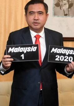 Malaysia đấu giá biển số xe đặc biệt