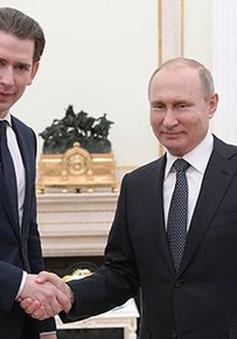 Áo thúc đẩy ngoại giao Nga - phương Tây