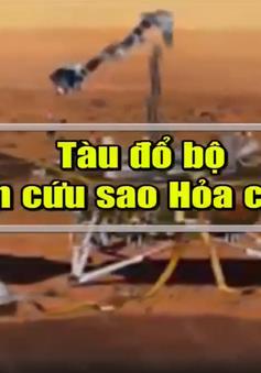 """Tàu InSight và sứ mệnh nghiên cứu """"trái tim"""" của sao Hỏa"""