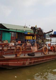 Xử lý bến thủy nội địa trái phép trên sông Công