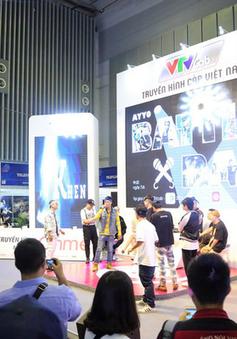 Những sắc màu sôi động của VTVcab tại ngày khai mạc Telefilm 2018