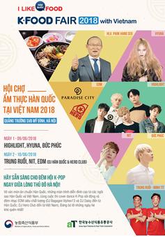 Khám phá lễ hội ẩm thực K-Food 2018