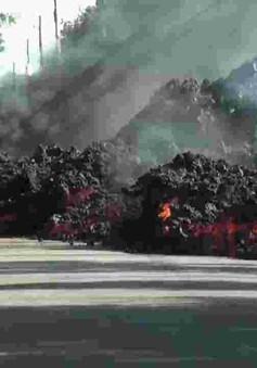 Núi lửa lại tàn phá 600 ngôi nhà tại Hawaii