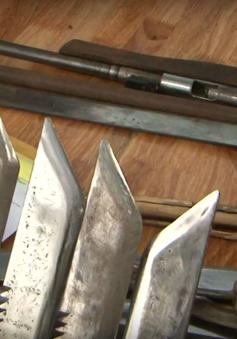 Đắk Lắk bắt đối tượng chế tạo vũ khí trái phép