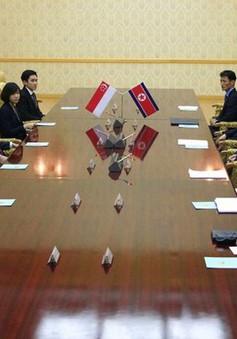 Ngoại trưởng Singapore và Triều Tiên hội đàm trước thềm cuộc gặp thượng đỉnh Mỹ-Triều