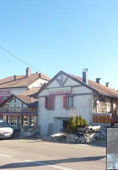 """Khách sạn kỳ lạ nơi du khách """"ngủ ở Thụy Sỹ, nhưng tắm ở Pháp"""""""