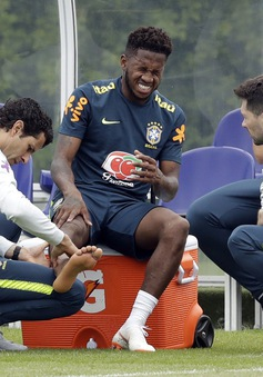 Bom tấn Man Utd dính chấn thương trong buổi tập của ĐT Brazil