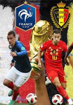 Bán kết World Cup 2018, ĐT Pháp - ĐT Bỉ: Màn so tài giữa những người đồng đội