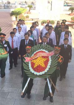 Lãnh đạo TP. Đà Nẵng dâng hương tưởng niệm các anh hùng liệt sỹ