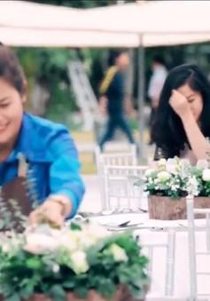 Gặp gỡ đại diện Việt Nam tham dự cuộc thi thiết kế hoa quốc tế tại Singapore