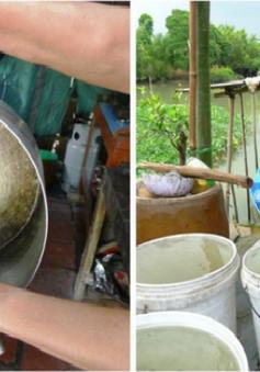 Thức ăn chuyển màu lạ khi nấu bằng nước sạch nông thôn