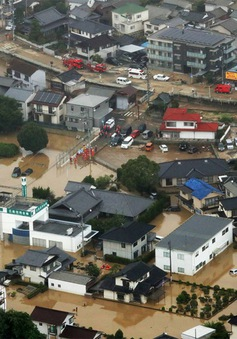 Nhật Bản thiệt hại nặng nề do mưa lũ