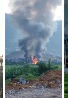 Trung Quốc: Nhà máy hóa chất phát nổ, ít nhất 30 người thương vong