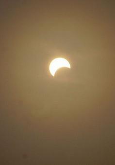 Hôm nay (13/7), xảy ra hiện tượng nhật thực một phần hiếm gặp
