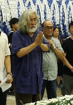 Đông đảo nghệ sĩ tới tiễn đưa diễn viên phim võ thuật Trung Quốc Kế Xuân Hoa