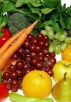 Chế độ ăn nhiều hoa quả và rau xanh giúp chống lại bệnh hen