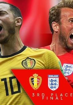 Tranh hạng Ba World Cup 2018, Bỉ - Anh: Danh hiệu trước khi chia tay! (21h00 hôm nay trên VTV2 và VTV6)
