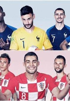 Thống kê trước thềm chung kết FIFA World Cup™ 2018: Lịch sử gọi tên Pháp hay Croatia