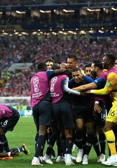 FIFA World Cup™ 2018: Thắng thuyết phục ĐT Croatia, ĐT Pháp lần thứ 2 vô địch thế giới!