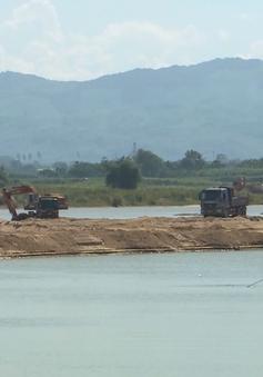 Quảng Ngãi: 22 khu vực được đấu giá quyền khai thác cát, sỏi lòng sông