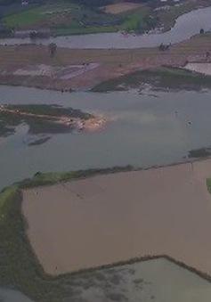 Bình Thuận: Xuất hiện hàng loạt những điểm tập kết cát bất thường giữa lòng hồ