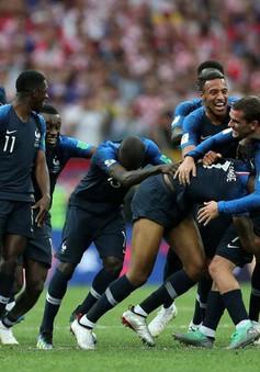 Muôn màu cảm xúc của người hâm mộ Pháp trong trận chung kết World Cup 2018