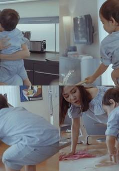 Lần đầu tiên, Thu Minh công khai hình ảnh con trai 3 tuổi trước công chúng