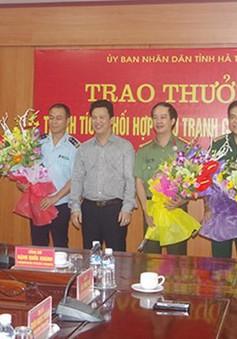 Hà Tĩnh khen thưởng ban chuyên án triệt phá đường dây ma túy lớn