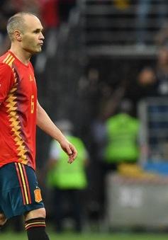 Andres Iniesta chia tay ĐT Tây Ban Nha