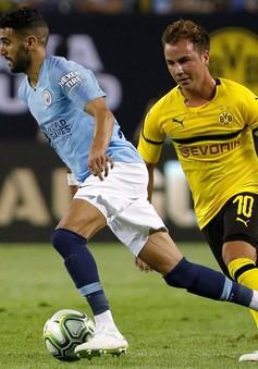 VIDEO: Gotze lập công, Dortmund đánh bại Man City trong ngày ra mắt của Mahrez