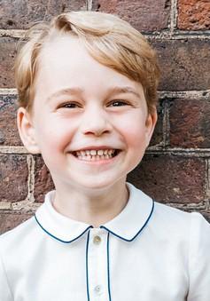 Lên 5 tuổi, Hoàng tử bé của nước Anh ngày nào giờ đã lớn thế này!
