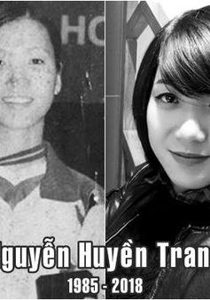 """""""Cô gái vàng"""" của đá cầu Việt Nam qua đời ở tuổi 33 vì ung thư"""