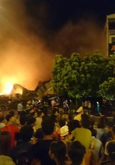 Cháy lớn ở chợ Gạo, Hưng Yên