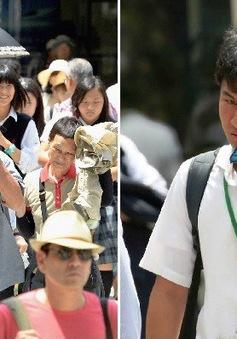 Nhật Bản chống chọi với nắng nóng