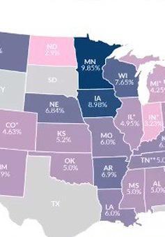 """Mỹ: Gia tăng tình trạng di dân nhằm """"né"""" thuế thu nhập cá nhân"""
