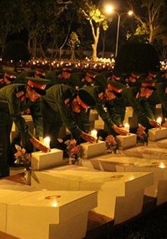 """VTV THTT """"Cháy mãi ngọn lửa tri ân"""" kỷ niệm 71 năm Ngày Thương binh - Liệt sĩ (20h10, VTV1)"""