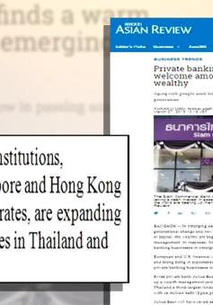 Private Banking - Dịch vụ quản lý tài sản lên ngôi tại châu Á