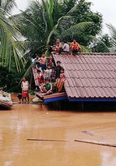 Giải cứu an toàn 26 người Việt mắc kẹt trong sự cố vỡ đập thủy điện tại Lào