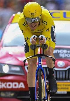 Chặng 20 Tour de France: Geraint Thomas gần như chắc chắn vô địch