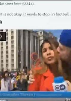 Phóng viên nữ lên tiếng về tình trạng bị quấy rối tại World Cup