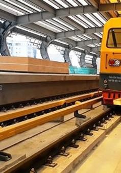 Đường sắt Cát Linh - Hà Đông được đóng điện để chạy thử