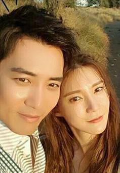Vợ chồng tài tử Joo Sang Wook đón con đầu lòng