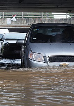 Nguyên tắc lái xe qua vùng nước ngập mùa mưa lũ