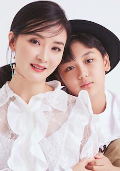 """Ảnh hiếm của """"Tịnh Nhi"""" Vương Diễm và con trai"""