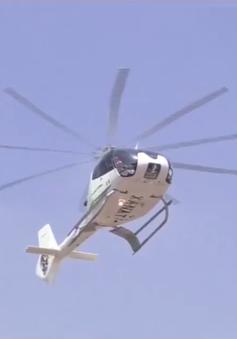 Dịch vụ taxi trực thăng ở Mexico