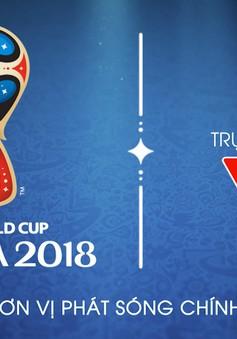 Lịch thi đấu và tường thuật trực tiếp bán kết FIFA World Cup™ 2018: Pháp – Bỉ, Croatia – Anh