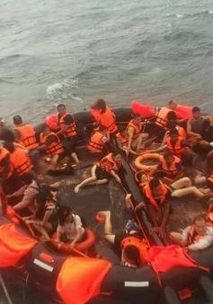 Lật tàu du lịch ở Phuket: Hành khách đều là người Trung Quốc
