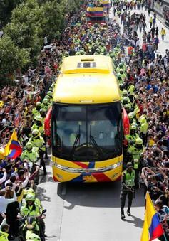 """Loại sớm ở FIFA World Cup™ 2018, ĐT Colombia vẫn được chào đón như """"vua"""" ở quê nhà"""