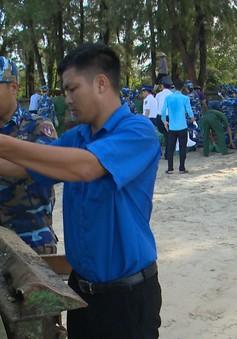 Chung tay làm sạch môi trường biển bảo vệ màu xanh đảo ngọc Cô Tô
